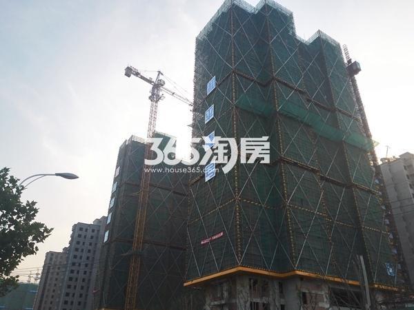 绿地工润和平壹号二期实景图1(11.10)