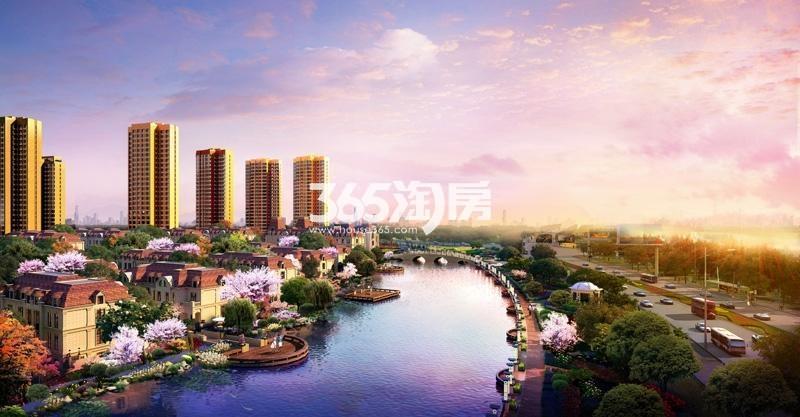 天津富力新城效果图