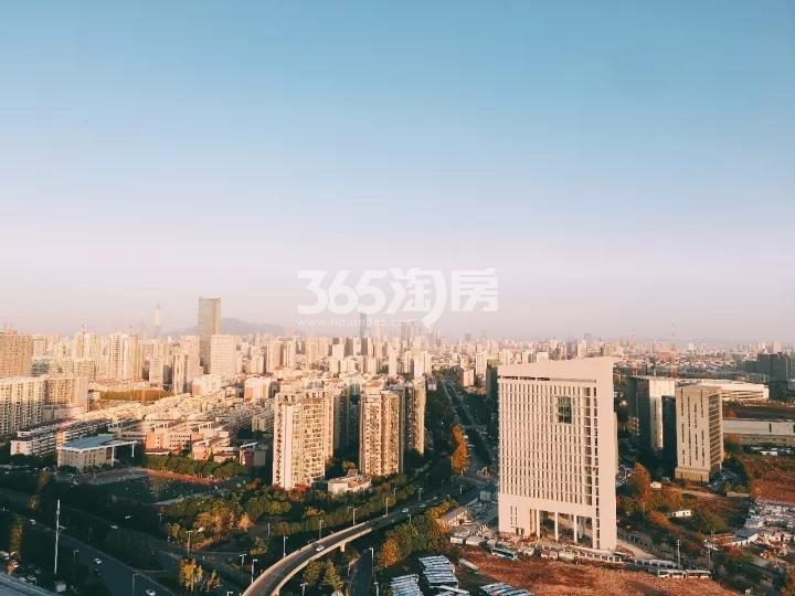 涵碧楼视野实景图(8.27)