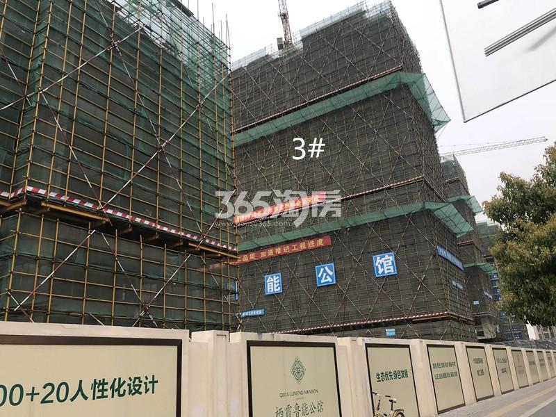 栖霞鲁能公馆实景图