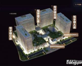 西湖国际广场B座92平米写字楼招租