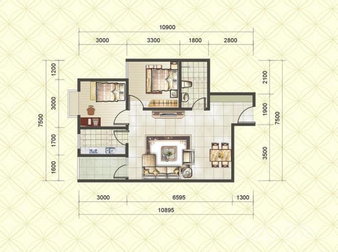 521医院北侧阳光80公寓70年大产权现房2室2厅79平