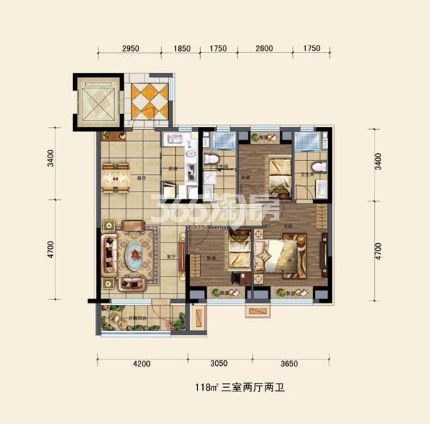 碧桂园大城印象户型图