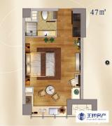 河西南 地铁口 奥体中心 河西CBD 豪华单身公寓