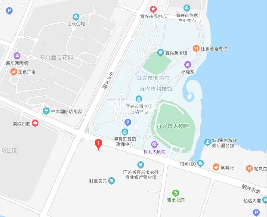 翡翠天元交通图