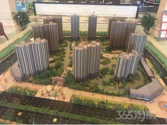 黄山府邸2室1厅1卫86平米毛坯产权房2017年建