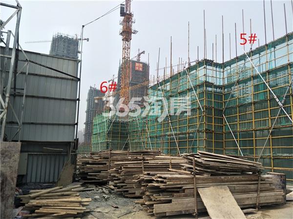 帝景珑湾 工地实拍 201810
