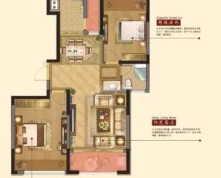 惠山区上府名园2室2厅1卫90㎡