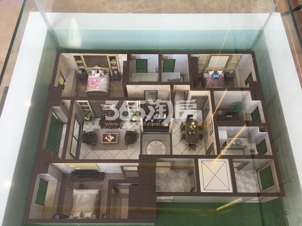 绿地中央广场 户型模型 201805