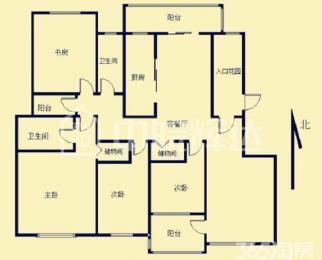 望湖城小学 48中 四室两厅 位置安静 南北通透 采光好 户型正