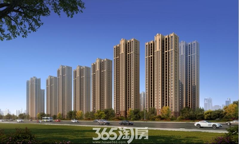 华南城紫荆名都二路透视图