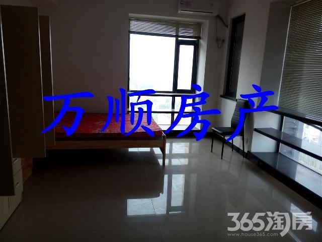 汇金广场A座23/24精装全设47平米1室1厅1300/月(住家)
