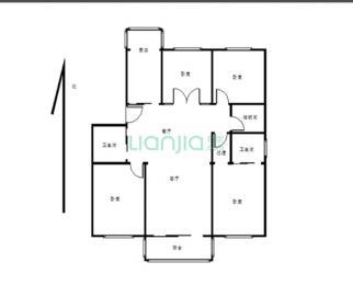 百大住宅苑4室2厅2卫189万元135平方