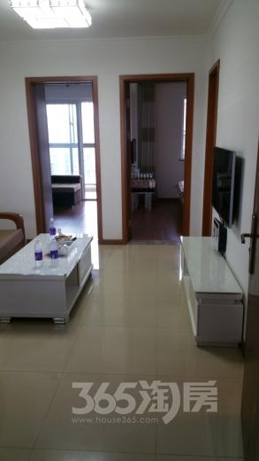江心洲洲岛家园芳华苑25楼2室1厅1卫68㎡整租精装