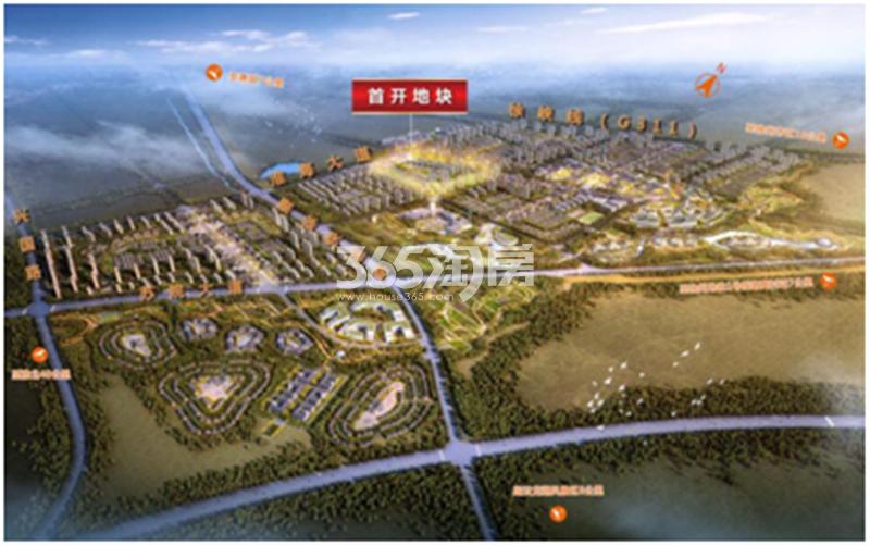 淮海绿地21城交通图