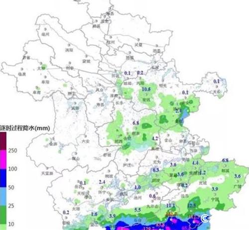 安徽近期将?#20013;?#38452;雨天气