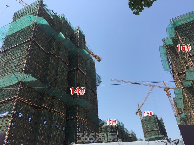 正大·万物城工地实景图(2017.5摄)