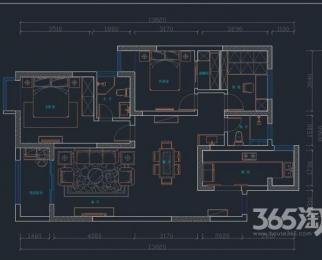 鼓楼龙江苏武公寓3室2厅2卫116.6平方产权房毛坯