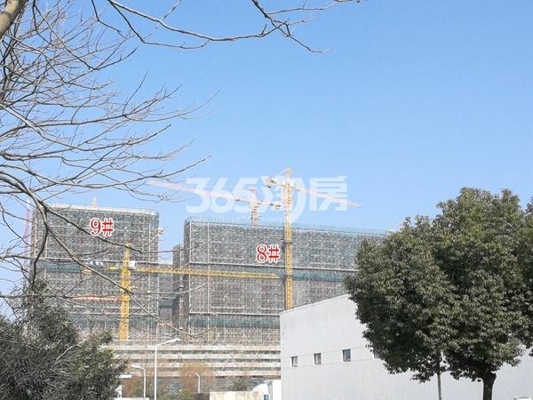 正大·万物城二期8#、9#楼高层最新进展(2018.2)