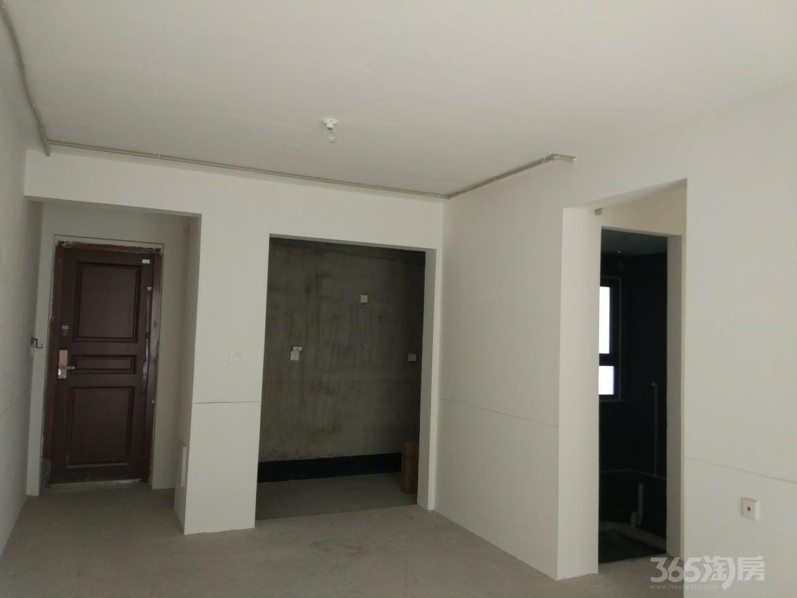 中电颐和府邸3室2厅1卫91.7平米毛坯产权房2017年建