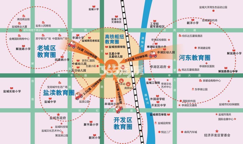 金座广场交通图