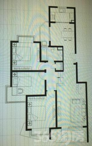 恒达清水园 实验学区房 塔园路地铁口 精装修大三房 换房急售