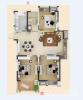 观湖壹号3室1厅1卫112.4�O2017年产权房毛坯