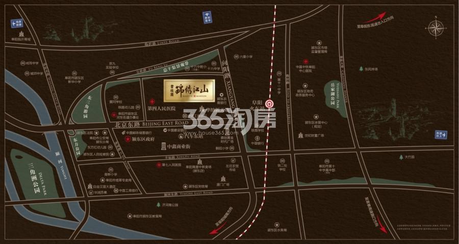 碧桂园锦绣江山交通图
