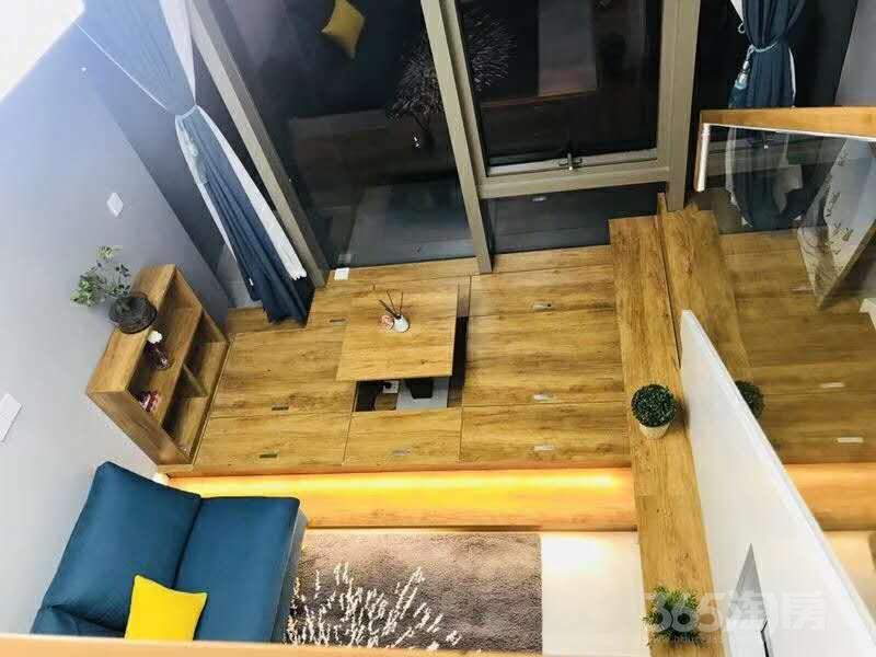 富力天贸广场1室1厅1卫35平米2018年产权房精装