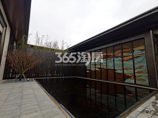 太湖如院售楼处景观实景(2020.3.31摄)