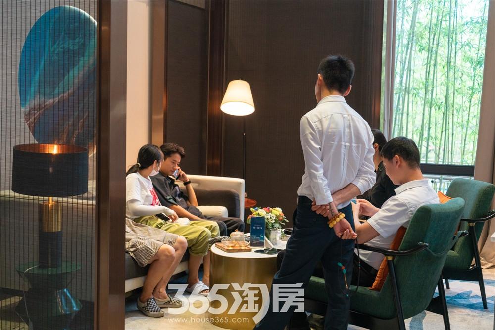 信达翡丽世家营销中心实景图(2020.7月摄)