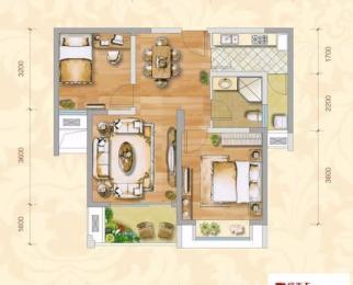新海尚宸家园2室2厅1卫73平米精装整租