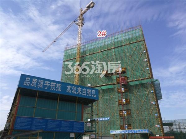弘阳时代中心楼栋施工进展(11.22)