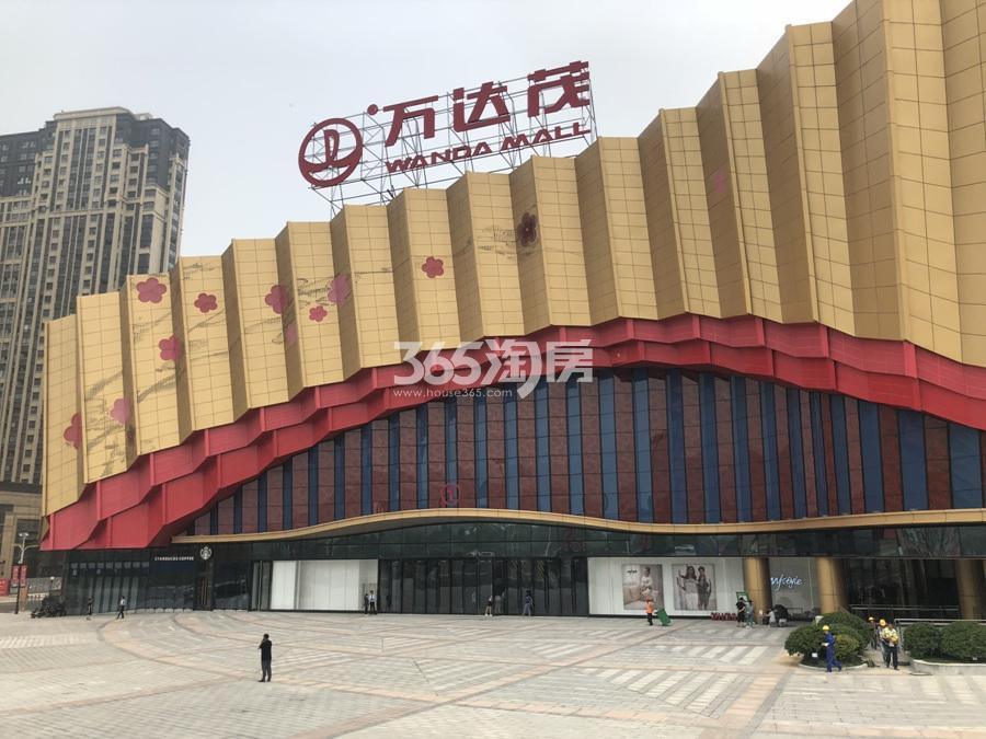 高科荣境周边配套万达茂商业街(5.26)
