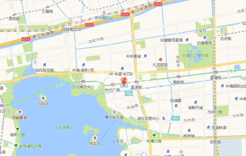 九龙仓国际金融中心交通图