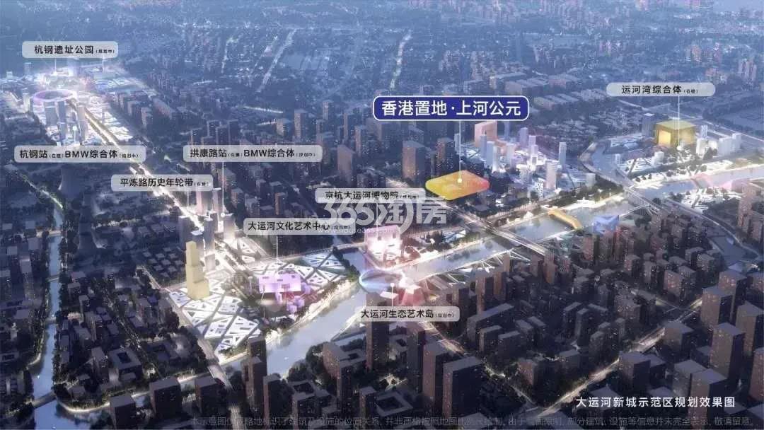 香港置地上河公元交通图