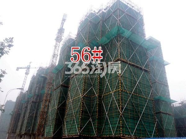 绿地工润和平壹号四期56#工地实景图(10.17)