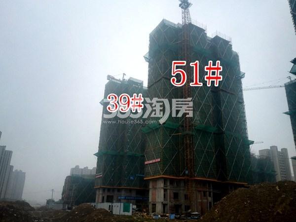 绿地工润和平壹号四期51#、39#工地实景图(10.17)