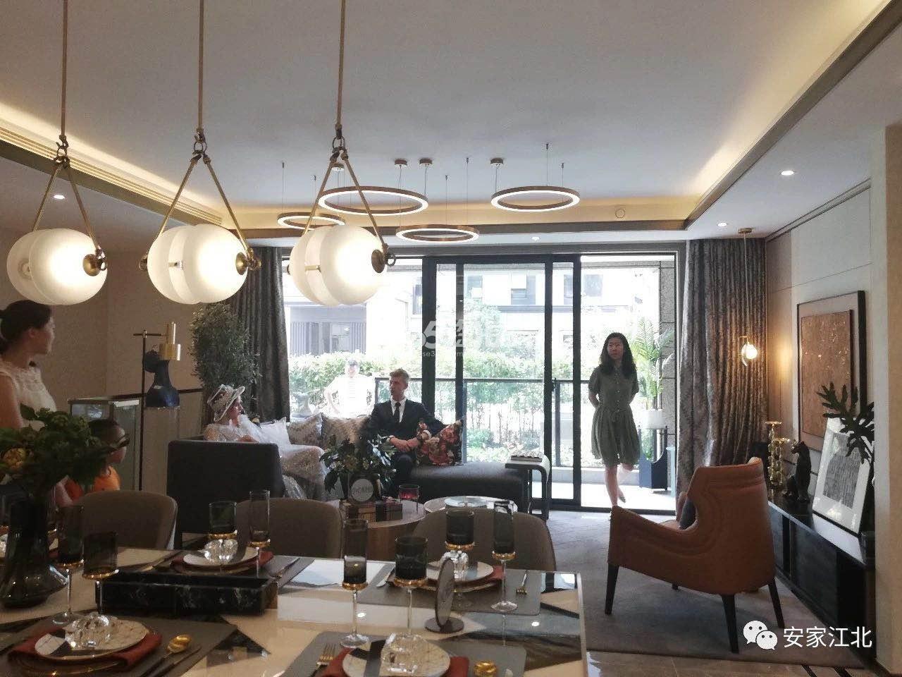 江山大境洋房119㎡样板间-餐客厅