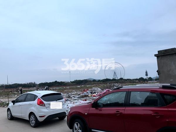 蠡湖一号二期待建地块实景(2018.2摄)