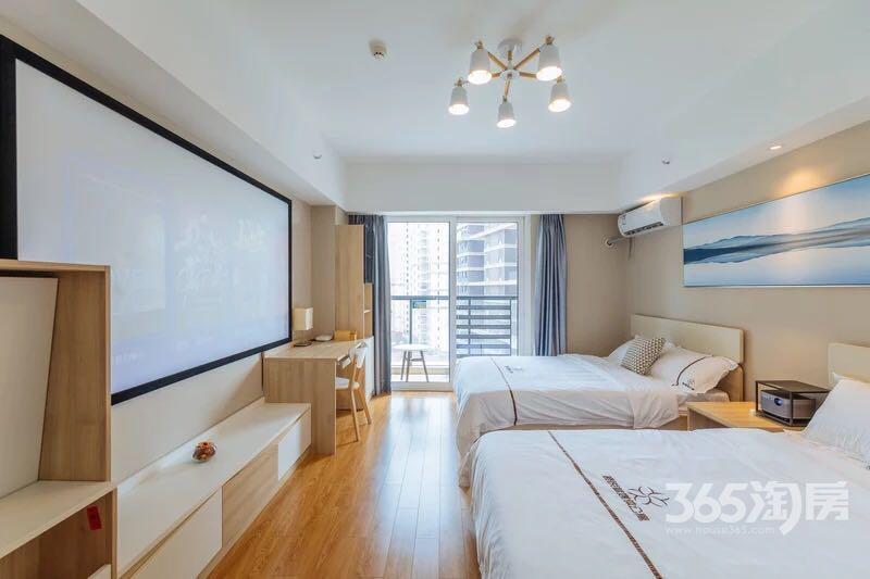 万科九都荟公寓1室1厅1卫42.64平方产权房豪华装