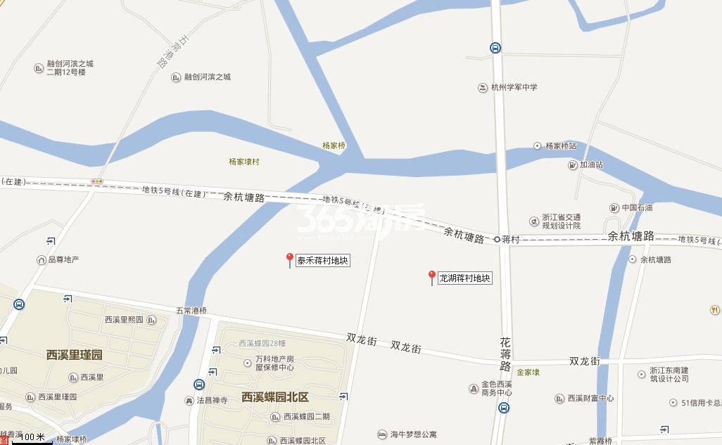 泰禾中央广场交通图