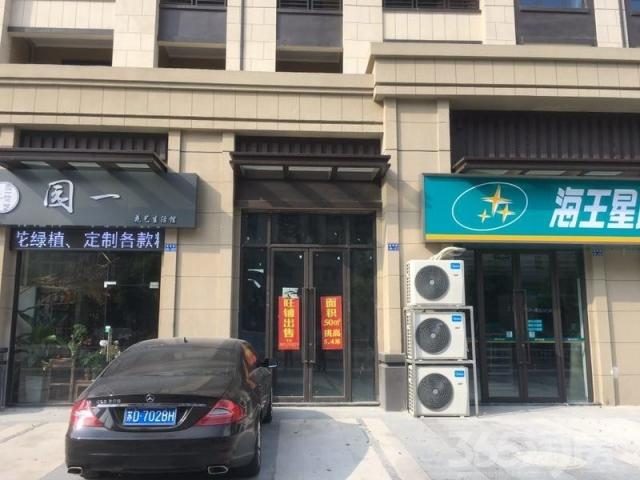 路劲城小区大门口纯一层挑高5.4米商铺