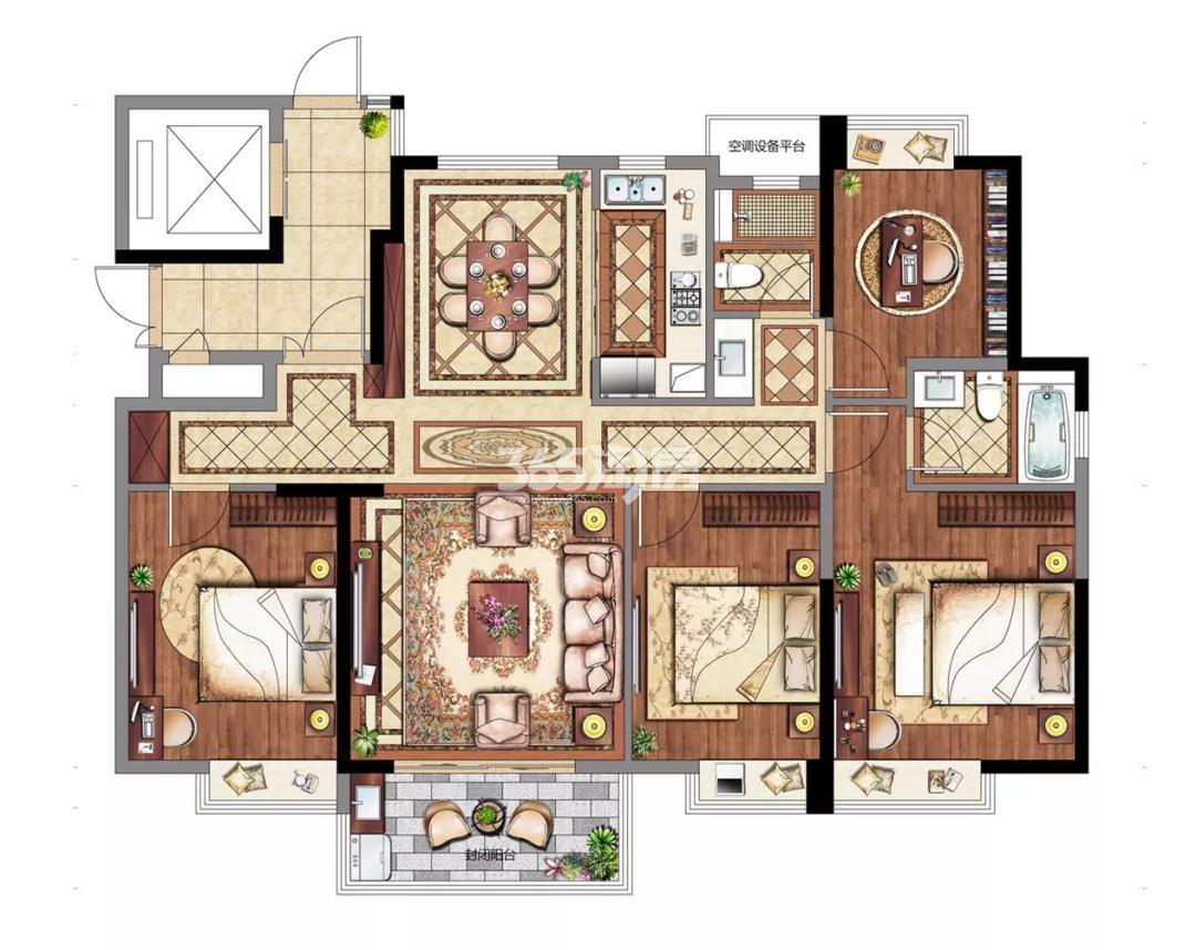 4室 154㎡