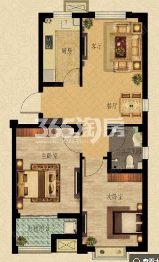 滨河新东城户型图