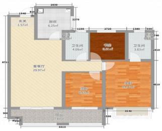 《急售 随时看房 单价2.3万》50中新区 天鹅湖 绿轴公园 地铁口