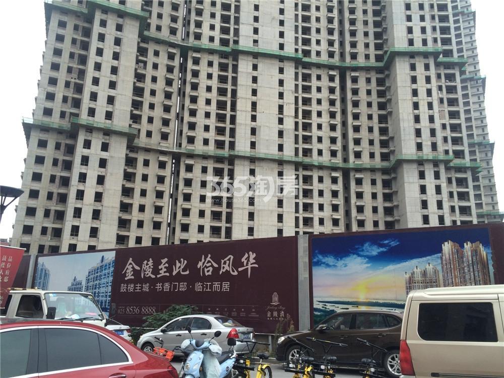 恒盛金陵湾3号楼实景图(10.18)