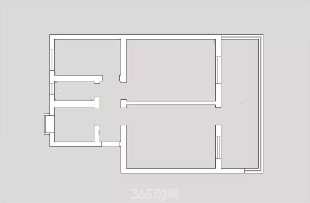 爆改78㎡二手房,变身日式温馨美家,超爱休闲阳台!
