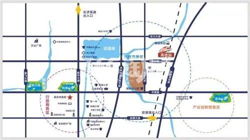 国信非常国际交通图