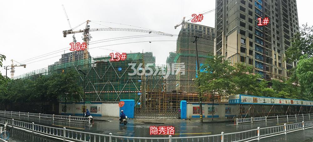 2018年5月31日首开杭州金茂府1、2、13、16号楼实景